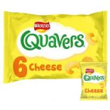 Walkers Quavers Cheese Snacks 6 X 16g